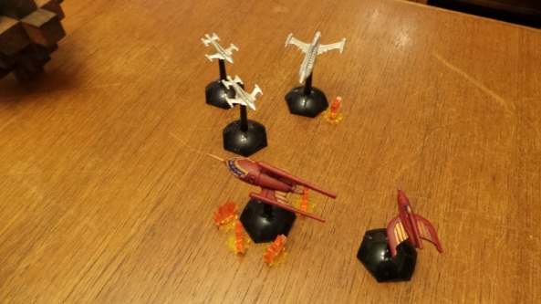 The Galacteers try and take out the Raptor, a Scorpion responds to this dishonorable act!